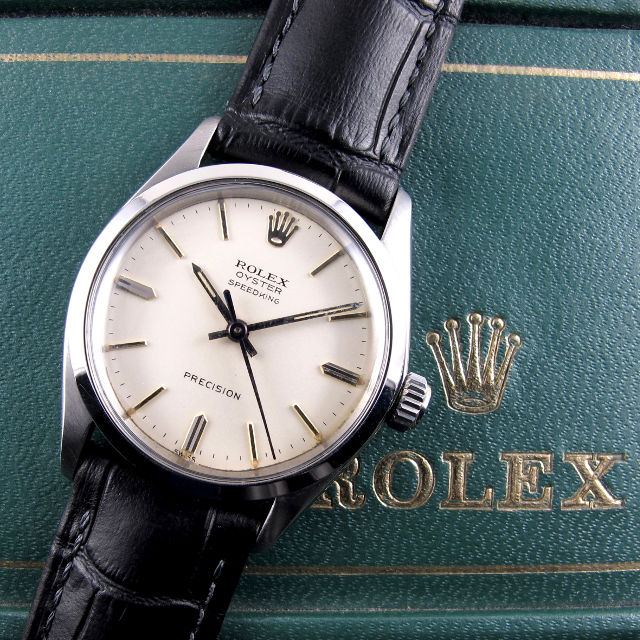 Rolex Oyster Speedking Ref. 4630 steel vintage wristwatch, dated 1963