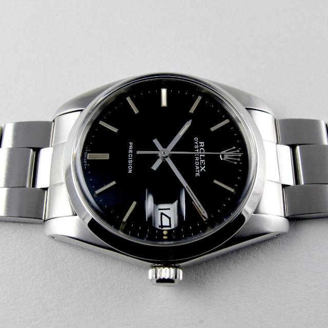 Rolex Oysterdate Precision Ref. 6694 steel vintage wristwatch, circa 1982