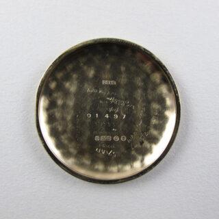 Rolex Precision 'Coin Edge' gold vintage wristwatch, hallmarked 1956