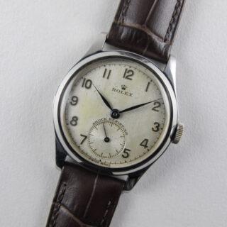 Rolex steel vintage wristwatch, circa 1947