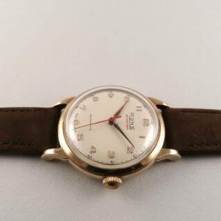 Rone 'Seventeen' 9ct gold hallmarked 1956   manual vintage wristwatch