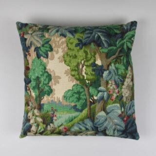 sanderson fabric cushion 02