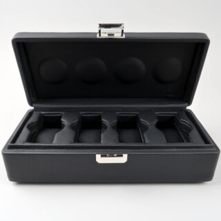 Scatola del Tempo Valigetta 4 | leather watch case for four watches