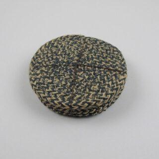 Set of 4 Woven Jute Coasters - Olive