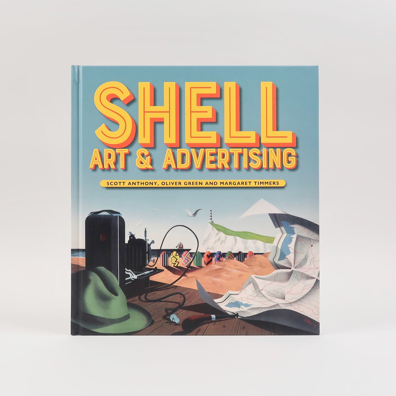 shell art and advertising