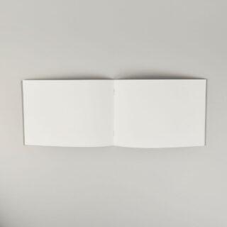 Sceenprinted Greyboard-Covered A5 Landscape Sketchbook