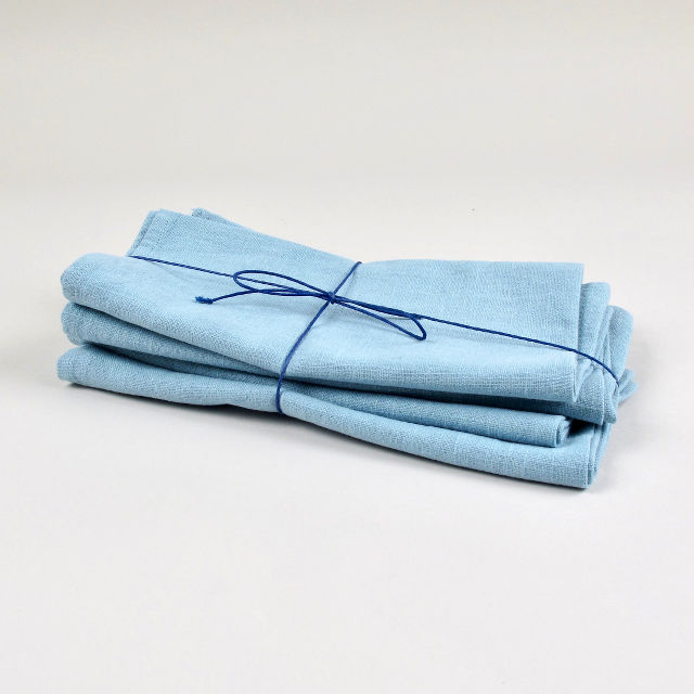Duck Egg Blue 100% Linen Napkin - handmade in Ludlow