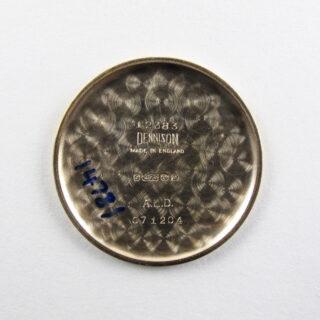 Smiths De Luxe Ref. A.501 gold vintage wristwatch, hallmarked 1958