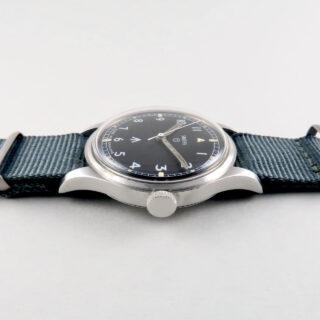 Smiths W10 military steel vintage wristwatch, 1968
