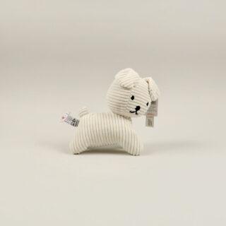 Corduroy Cream Snuffy the Dog - Small