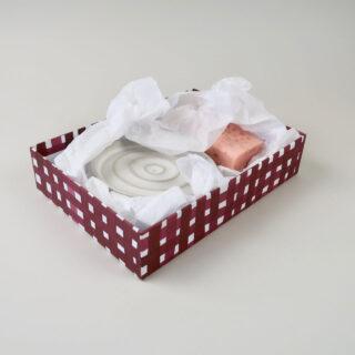 Soap Dish and Soap Gift Box Set