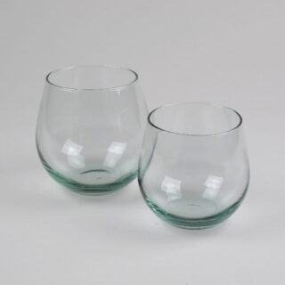 Recycled Glass Tumblers - made in Spain