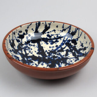 Terracotta Splatter Ware Bowl - Large