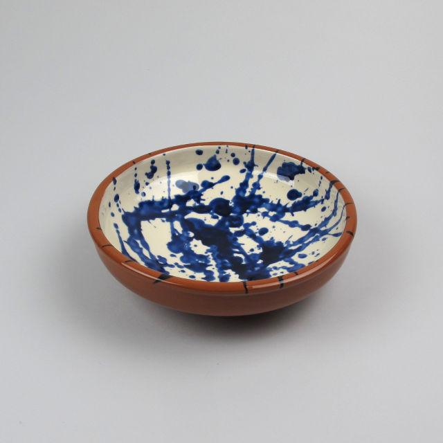 Terracotta Splatterware Bowl - Medium
