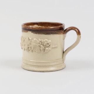 Small Sprigged Stoneware Mug