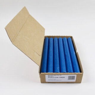 Box of 12 Candles - Bedruthan Blue