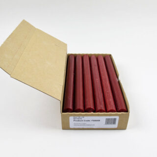 Box of 12 Candles - Red