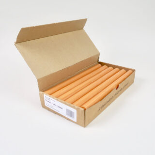 Box of 12 Candles - Terracotta