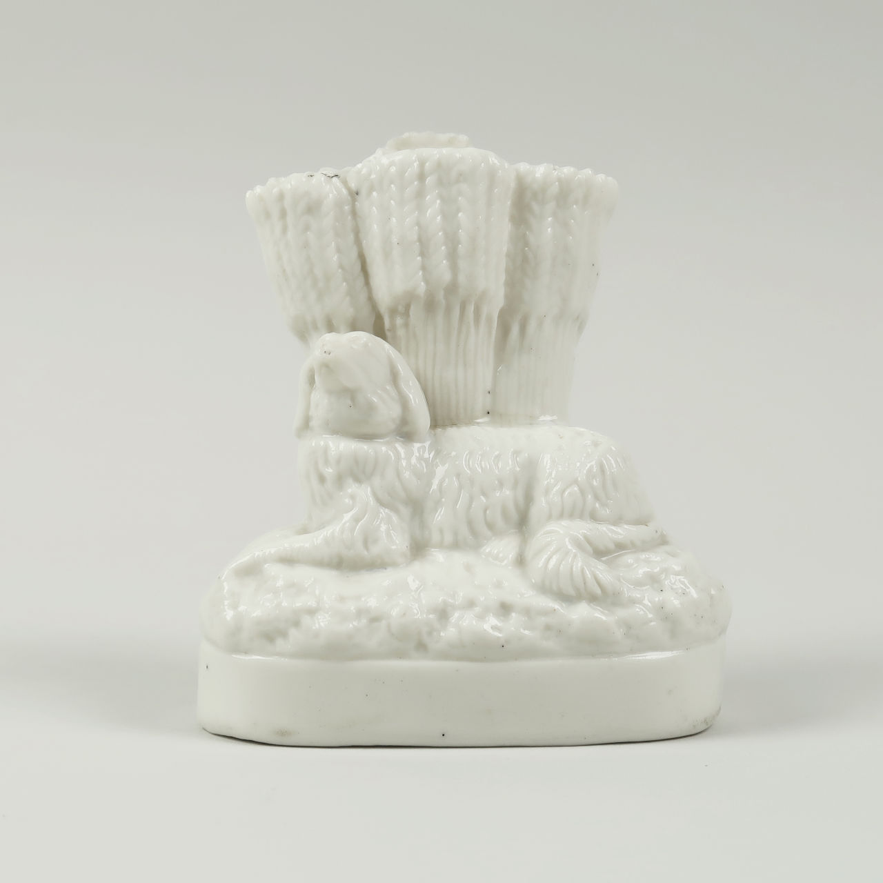 Bone China Spill Vase - Spaniel with Wheatsheaves