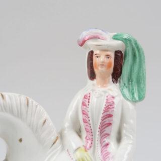 Staffordshire Princess Flatback