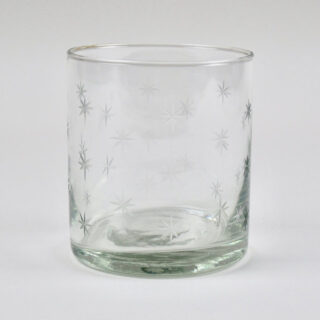 Star Glass Tumbler