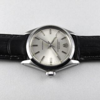 Steel Rolex Oyster Speedking Ref. 6430 vintage wristwatch, dated 1970
