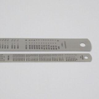 Steel rulers - 30cm & 15cm