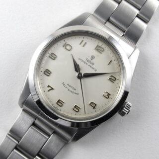 Steel Tudor / Rolex Oyster Prince Ref. 7995 vintage wristwatch, circa 1966