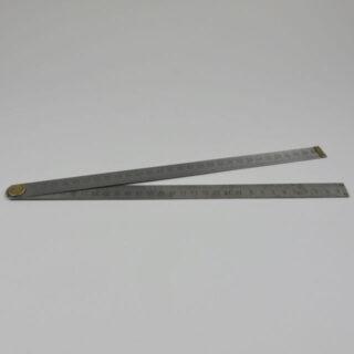 steel vintage ruler 60cm 01