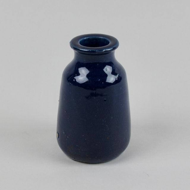 Blue Stoneware Bottle