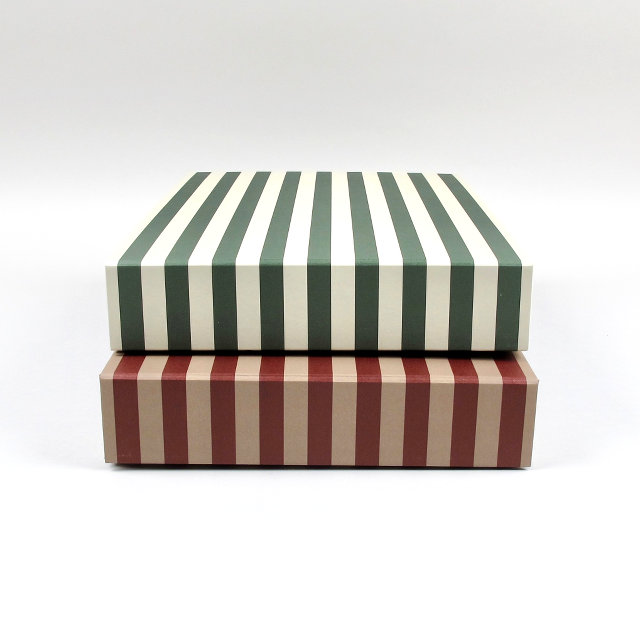 Striped Box - Rectangular