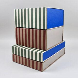 Striped Box - Square