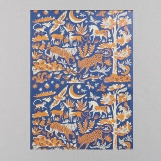Night & Day Giftwrap by Emily Sutton