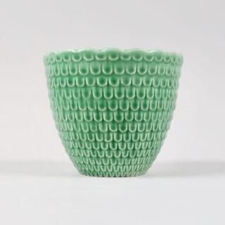 Sylvac Green Scale Vase
