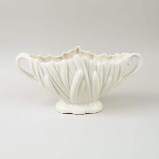 SylvaC White Hyacinth Vase with Handles