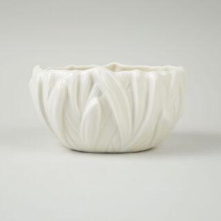 White Sylvac Hyacinth Vase