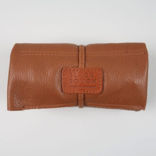 Tan leather watch wrap