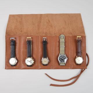 Leather watch wraps