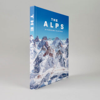 The Alps in Panoramic Paintings