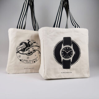 Black Bough Watch Tote Bag