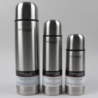 Thermos THERMOcafé stainless steel Vacuum insulated Flask - 350ml, 500ml, 1litre