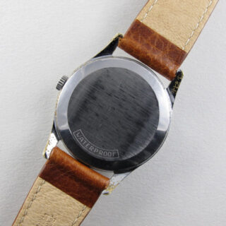 Tissot Camping Ref. 51012 /7 chrome and steel vintage wristwatch, circa 1957