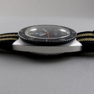 Tissot Navigator Ref. 44646 -2X steel vintage wristwatch, circa 1973