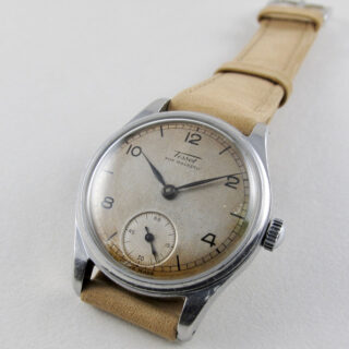 Tissot Ref. 6076 / 6072 steel vintage wristwatch, circa 1944