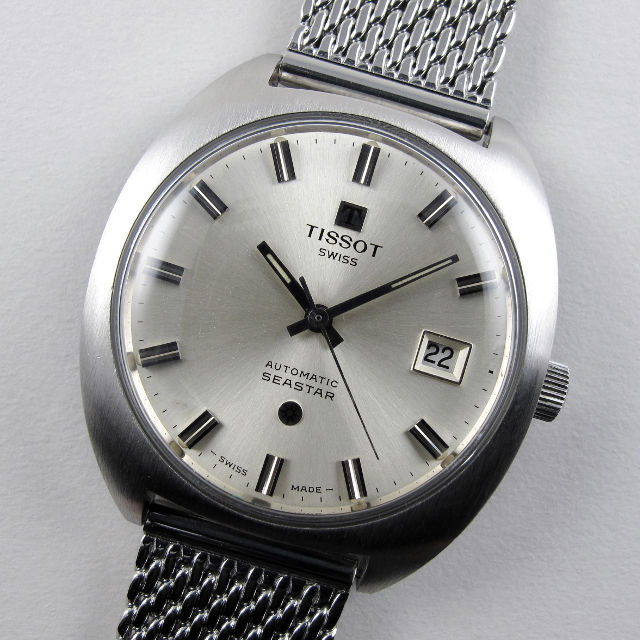 Tissot Seastar Ref. 44585 -6X steel vintage wristwatch, circa 1972