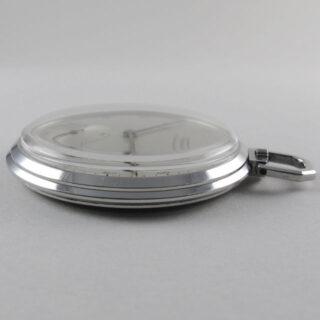 Tissot vintage steel open-faced pocket watch, circa 1942
