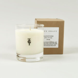 Small Scented Candle by True Grace - Rainstorm