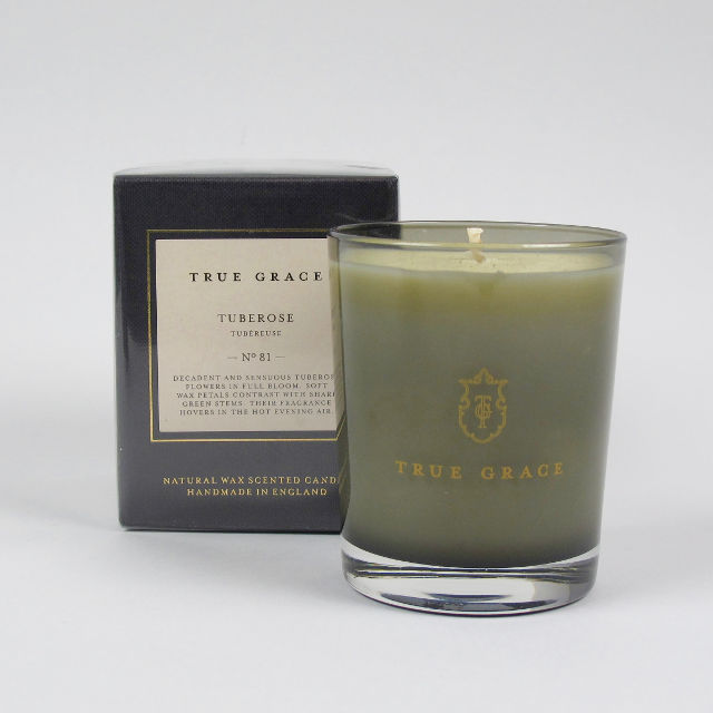 Scented Candle by True Grace - Tuberose