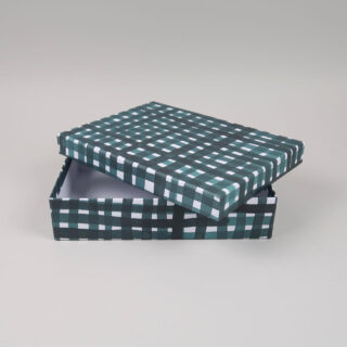 A5 Storage Boxes covered in Gabriela Trzebinski for Black Bough Paper