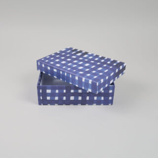 Set of 3 Blue Gift Boxes - A4, A5, A6